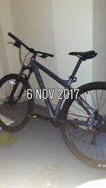 Carera mountain bike for sale mint!!!