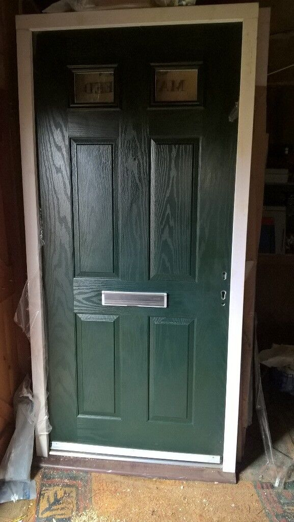 Front Door Pvc Composite Brand New In Weymouth Dorset
