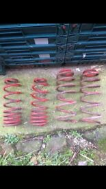 LOWERING SPRINGS FOR BORA, MK4 GOLF, MK1 LEON, TOLEDO