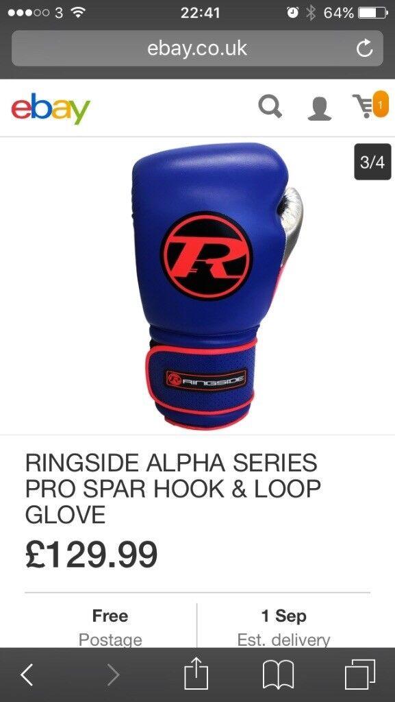 Ringside boxing gloves