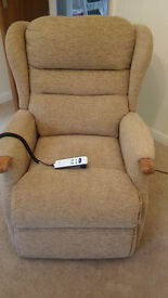 Sherborne Lift & Rise Reclining Chair - Dual Motor - Excellent Condition
