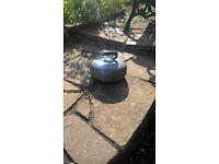 Curling stone - decorative garden item, great condition.