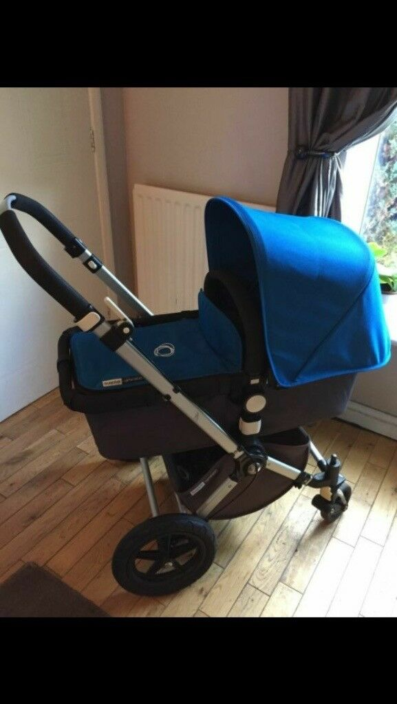 Bugaboo Cameleon 2 Royal Blue travel system/ buggy/ pushchair