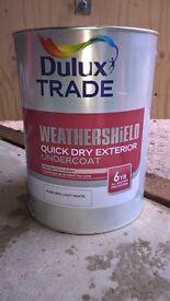 Dulux Exterior undercoat paint