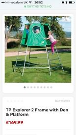 Childrens tp climbing frame