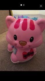 V-Tech PINK Catch me Kitten toy