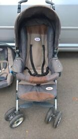 Britax travel system - buggy, car seat, isofix base, rain cover and