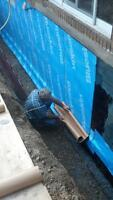 Waterproofing Excavation and Concrete