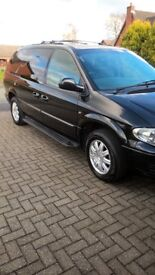 CHRYSLER GRAND VOYAGER XS - STOW & GO BLACK