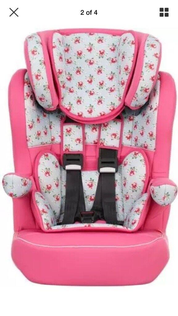Obaby Floral car seat