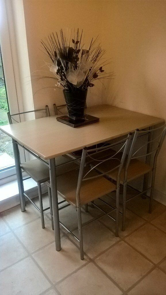 Dining room table & Chairs Open to offers