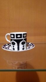 Crown Derby cup and saucer not new or reproduction.