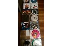 selection of R&B and rap cd's