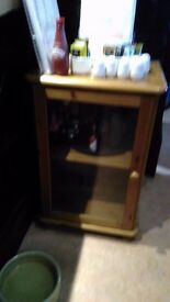SMALL GLASS FRONTED UNIT