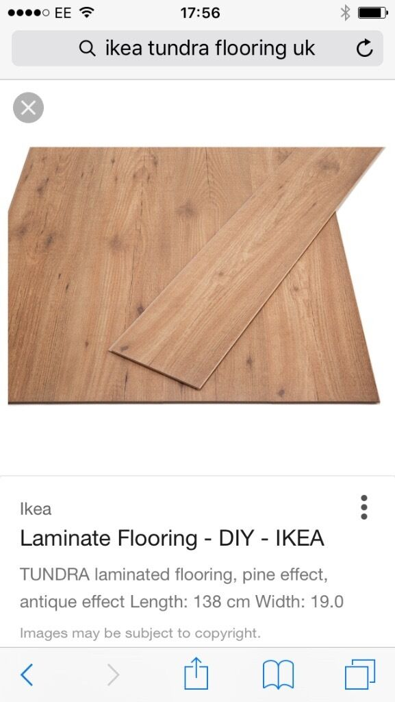 Ikea Tundra Laminate Flooring 4 Packs 20