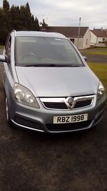 2008 vauxhall zafira breeze car for sale