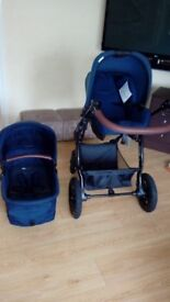 Excellent condition travel system-from birth to 3 years old one-with the car seat