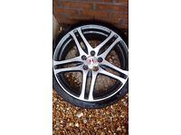 Honda civic 19inch wheel and tyre 65 ono