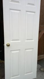 Interior Doors Assorted All Hinged and Handles Ready to FIT Hang
