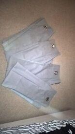 Grey curtains 112cm x 137 (2 pairs)