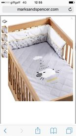 Marks and Spencer's Cot bedding