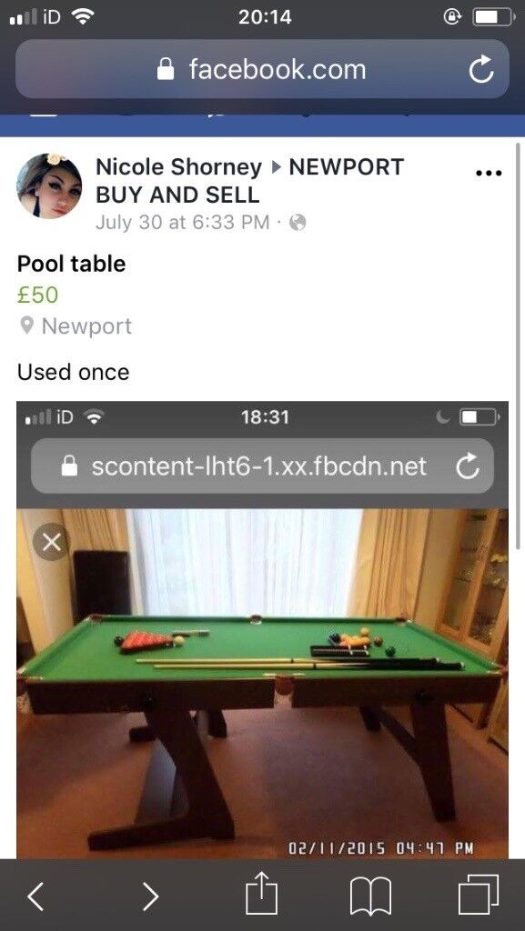 Pool Table In Newport Gumtree - Newport pool table