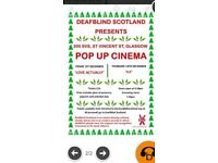 ***Four tickets to Christmas pop up cinema showing Love Actually 1/12/17***