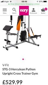 Vfit , multi gym used a handful of times lovely condition