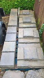 Paving Stones - Excellent condition, cleaned and ready to use.