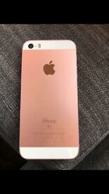 iPhone SE 64gb (rose gold)