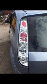 Fiesta mk6 Lexus tail lights