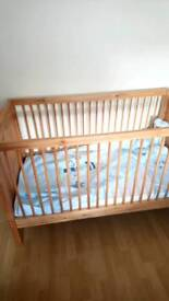 Cot Bed... Pine with/without mattress