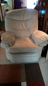 Free! Beige recliner armchair Very Good Condition