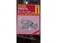 Haynes Ford Fiesta Owners Workshop Manual, All Models from 1976 to 1983. Like new.