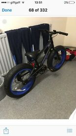 Kids fat tyre bike