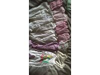 bundle of newborn/first size babygrows, vests and tights