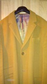 mans crombie coat