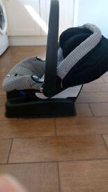 Pram and car seat