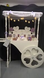 candy cart/ sweet trolley