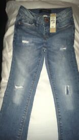 £8 Riverisland Jeans 4year old Tag still on