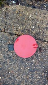 corsa c petrol flap in red