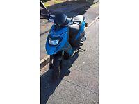 Piaggio typhoon 125cc 2015 plate. read description