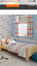 Curtains & matching duvet cover