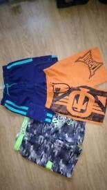3 x Boys shorts Aged 9-10