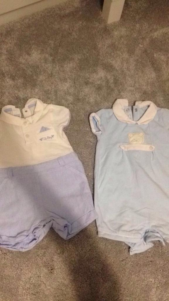 Mayoral 1-2 month baby boy designer