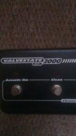 MARSHALL VALVESTATE 2000 AVT FOOTSWITCH