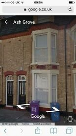 Student Accommodation 5 bedroom house to share Wavertree