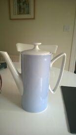 pretty coffee cups and habitat coffee pot