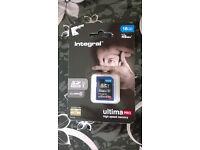 Genuine Integral SD Card 16GB Memory Class 10 Full HD 3D 45MB/S Digital Camera