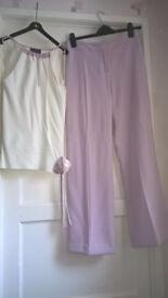 Beautiful Principles suit (Trousers & top) size 10 - £15